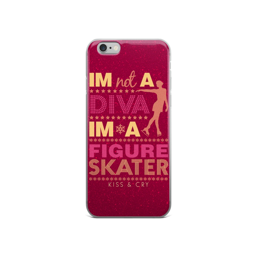 Not A Diva - iPhone Case