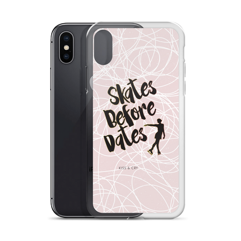 Skates Before Dates - Phone Case
