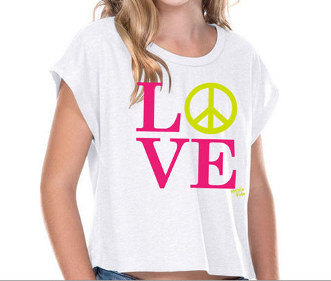 Love & Peace Kids Shirt