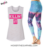 Killin' It Muscle-T - White Slub