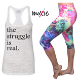 Struggle is Real Tank - White
