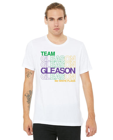 Mardi Gras - Purple Green Gold GLEASON T-Shirt
