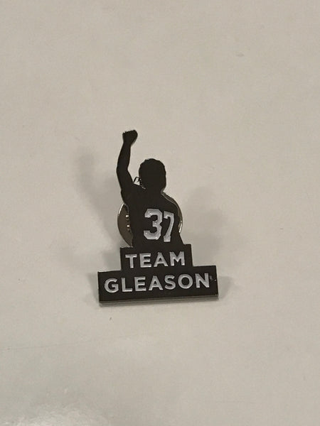 Team Gleason Lapel Pins