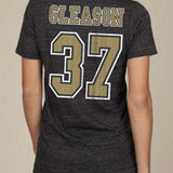 Gleason 37 Mock Jersey Womens V-neck T-shirt