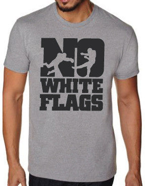 No White Flags Bold Block Mens T-shirt