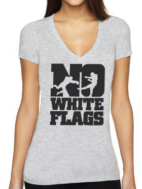 No White Flags Bold Block Womens T-shirt