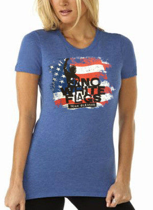 USA No White Flags Womens T-shirt