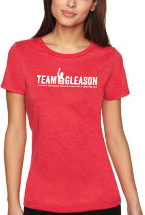 Red Team Gleason Womens T-shirt