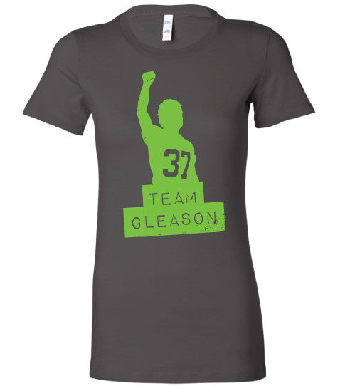 Team Gleason Logo Ladies T-shirt