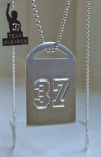 Gleason Tags - Sarah Ott Limited Edition #37 Sterling Silver Necklace Charm