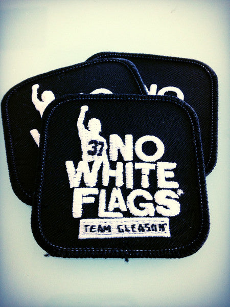 No White Flags Team Gleason Patches