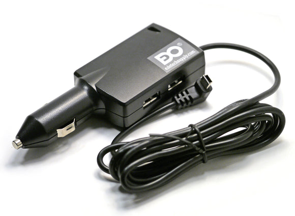 6A Highspeed USB Multi-Charger Car Power Cord for Garmin GPS