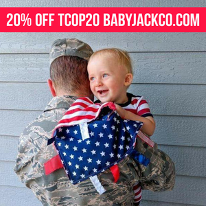A Military Child Lovey with The Carrying On Project