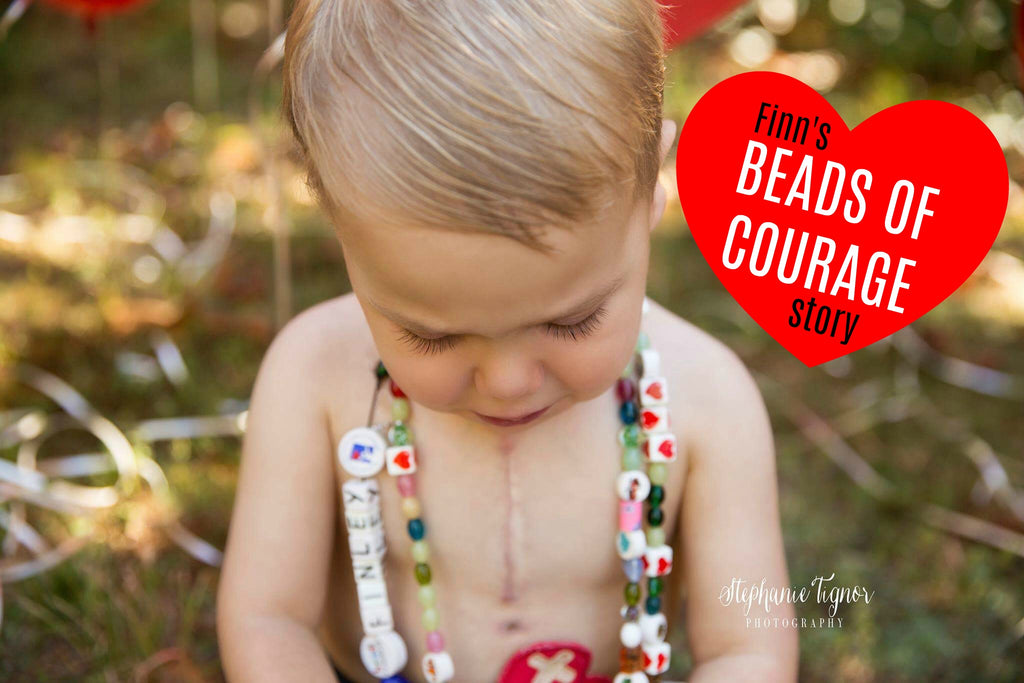 Finn's Beads of Courage Story