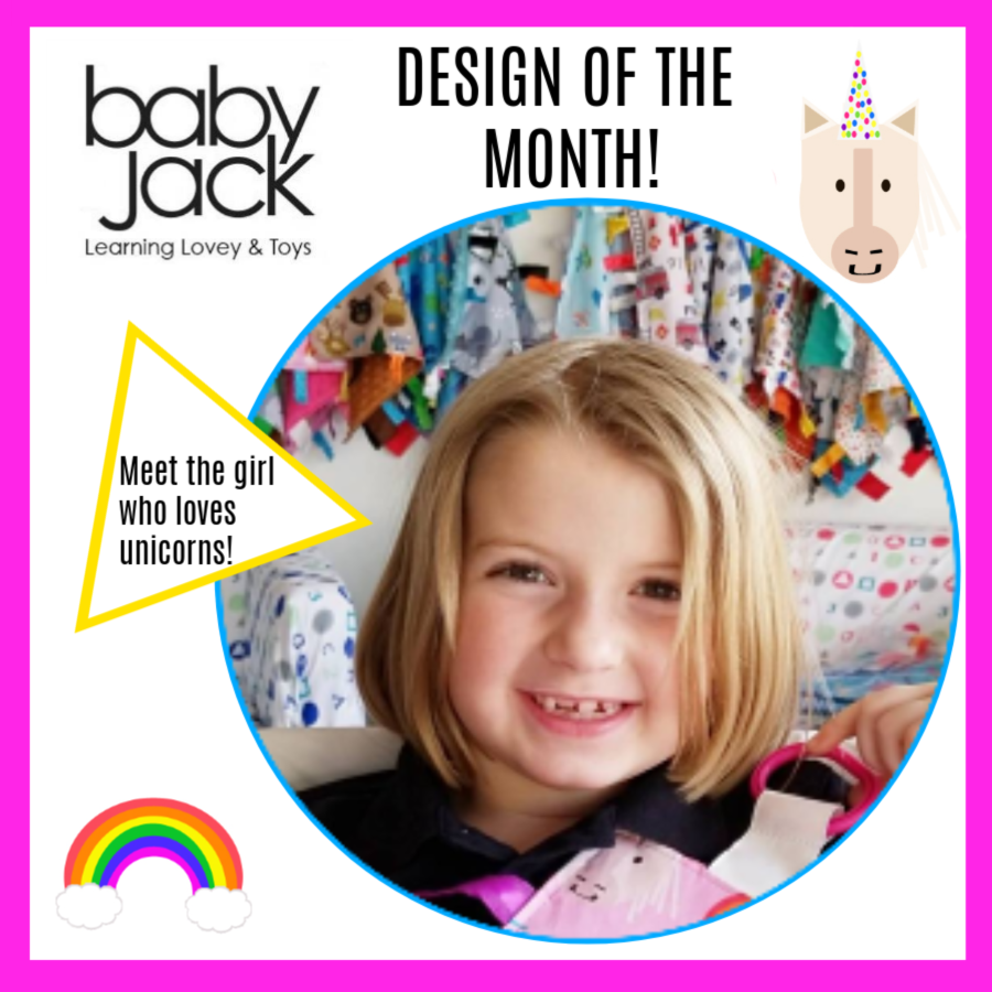 Lovey of the Month: Unicorn Learning Lovey by Baby Jack