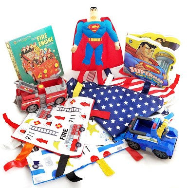 Celebrate Everyday Heroes with the Flag, Police, and Fire Loveys!