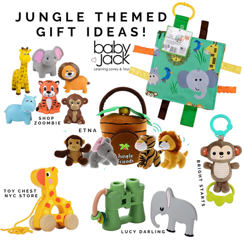 Jungle Zoo Trip Baby Gifts Toys by Baby Jack Learning Lovey