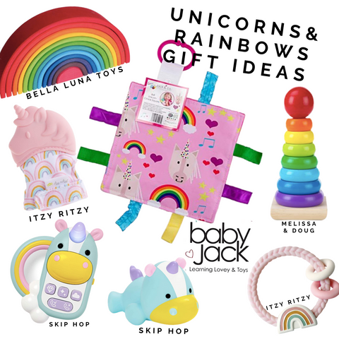 Unicorn Magic Baby Toys Learning Lovey Baby Jack
