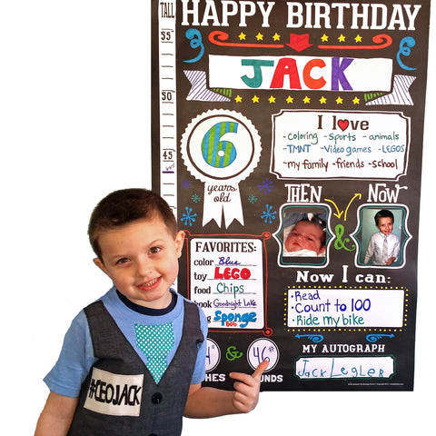 CEOJack with his Sticky Bellies The Birthday Poster