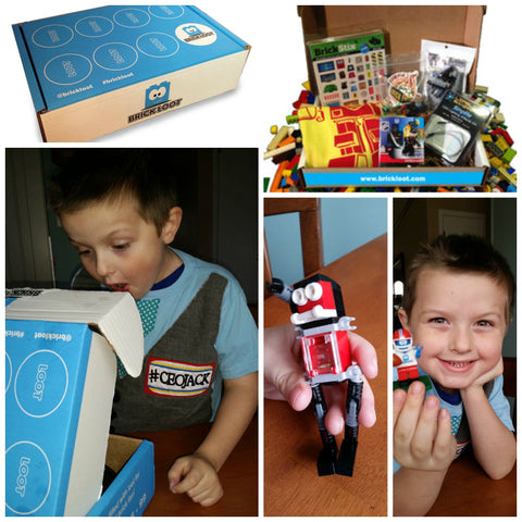 Baby Jack and Company Brick Loot Review CEOJack Legos