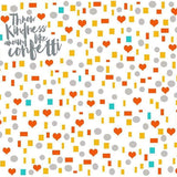 Kindness Confetti Shapes Learning Lovey Collection