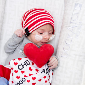 Load image into Gallery viewer, CHD Awareness 1:100 Tag Toy Lovey by Baby Jack