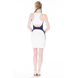 ada dress white back