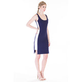 claribel dress blue side