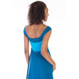 gala dress blue detail