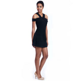 lettie black dress side