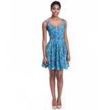madeleine dress print front