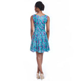 madeleine dress print back