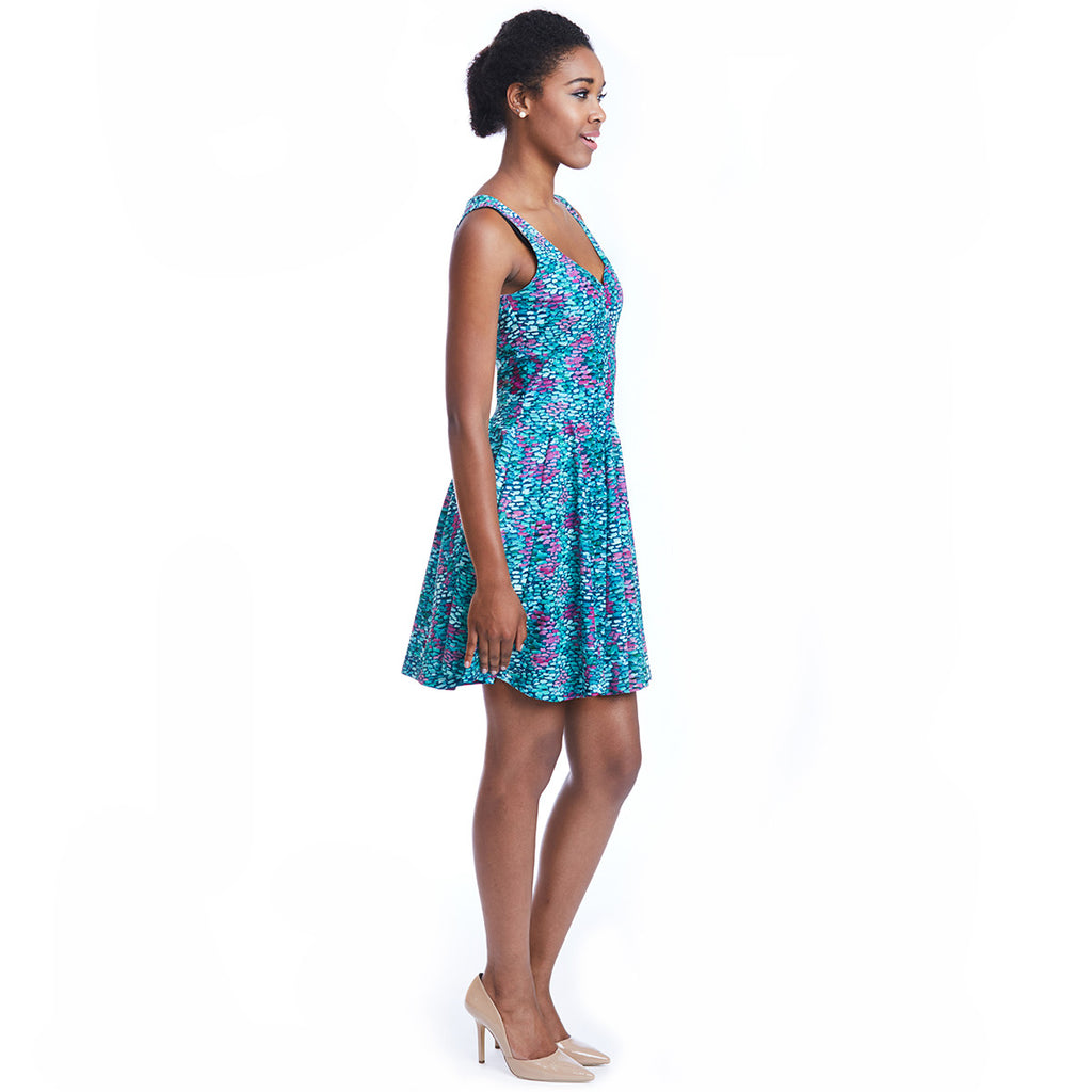 madeleine dress print side