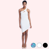 marie dress white front