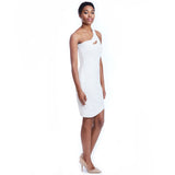 marie dress white side
