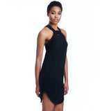 mia dress black detail