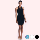 mia dress black front
