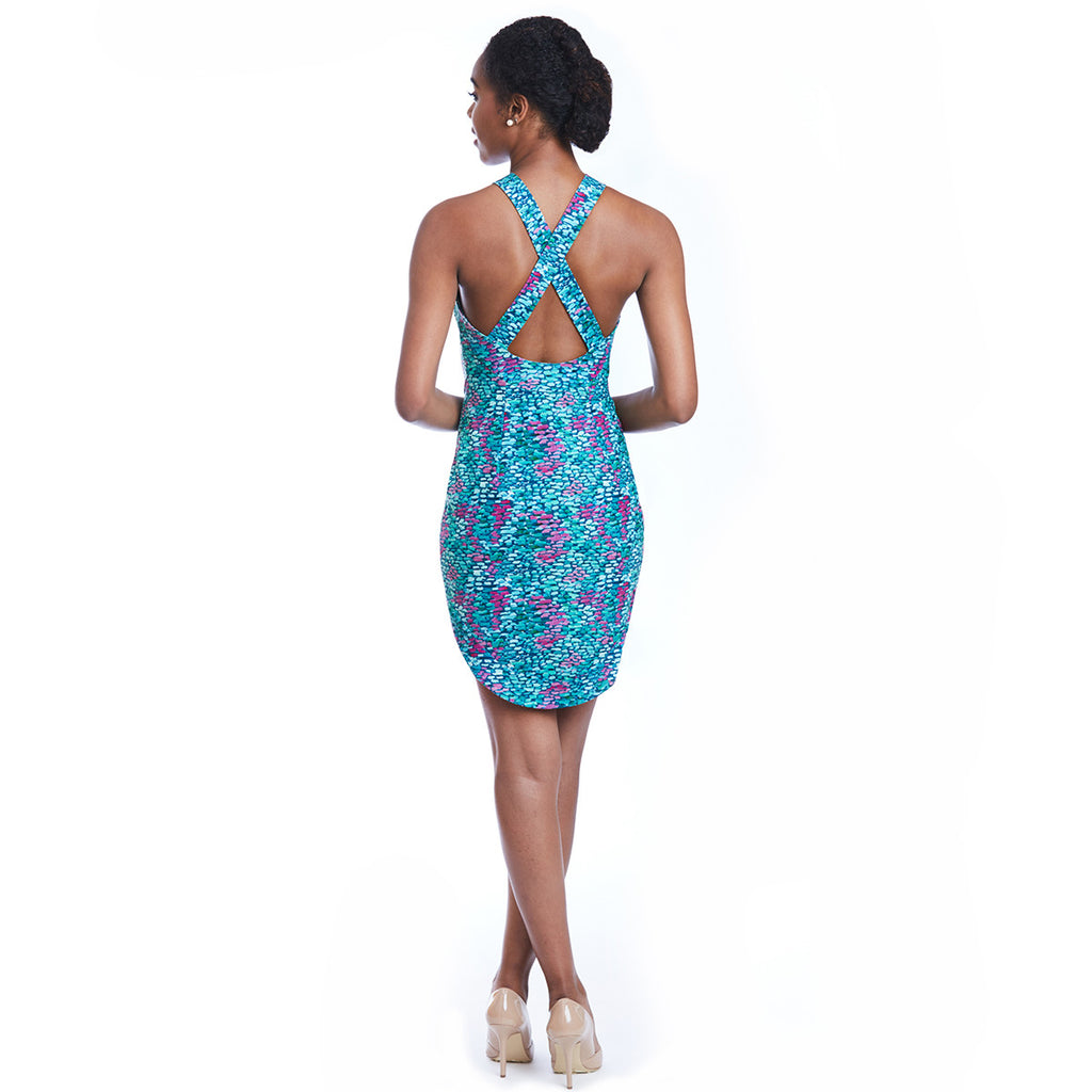 mia dress print back