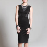 Penelope dress black/grey