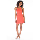 victorine dress pink front alternate