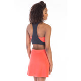 victorine dress pink back detail