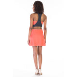 victorine dress pink back