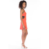 victorine dress pink side