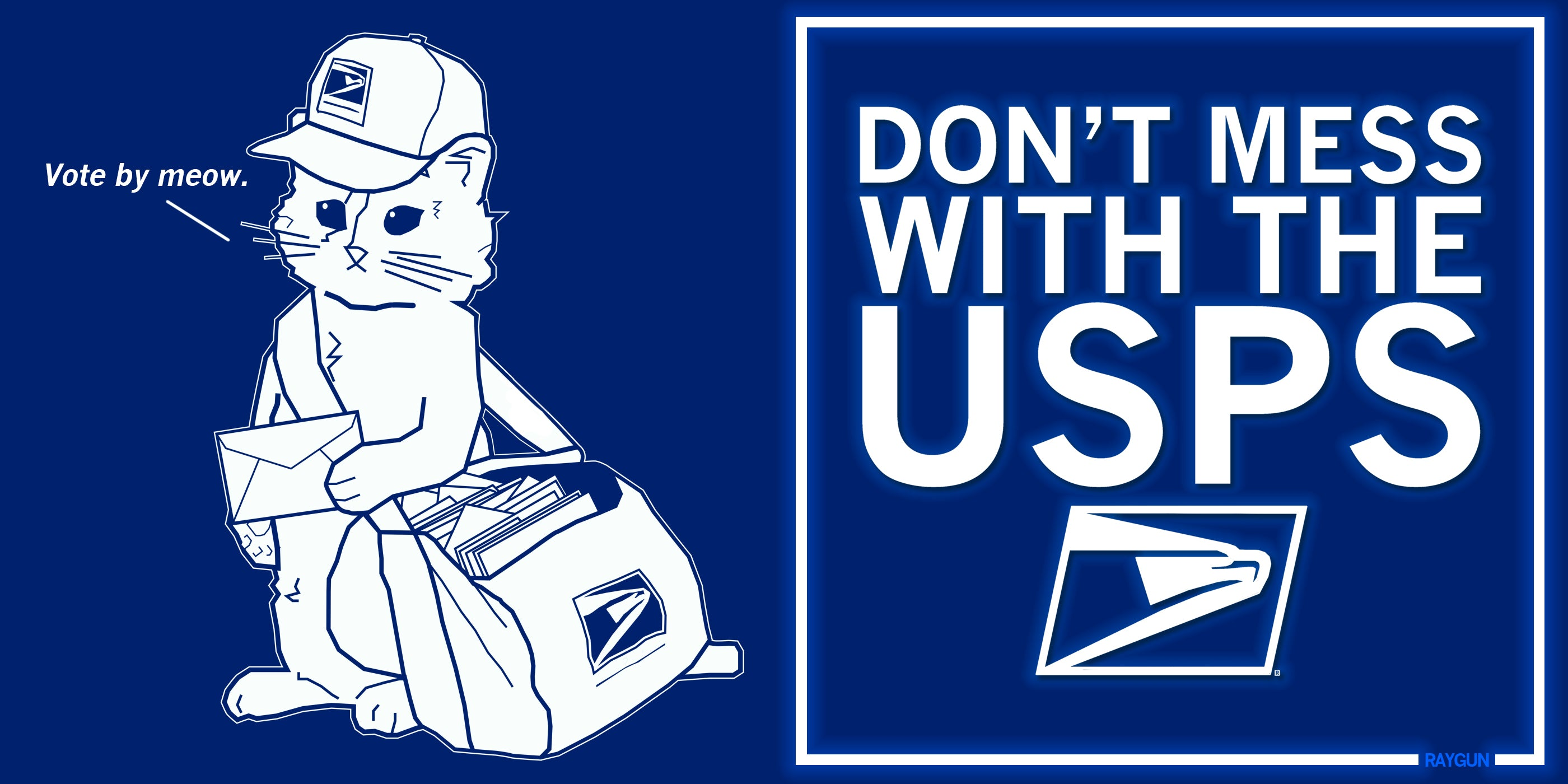 Don't Mess With The USPS. Vote by Mail