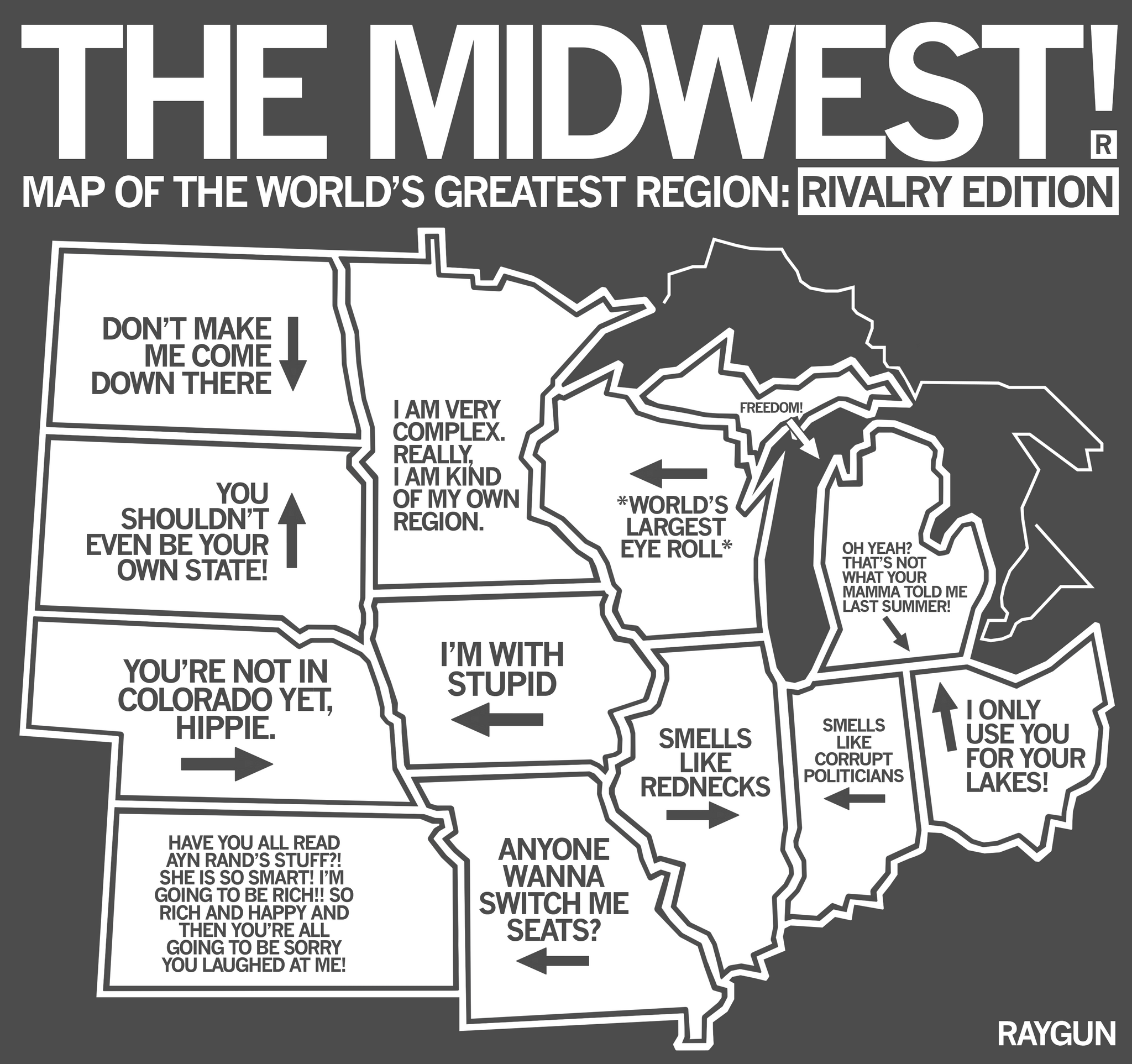 maps of the midwest raygun