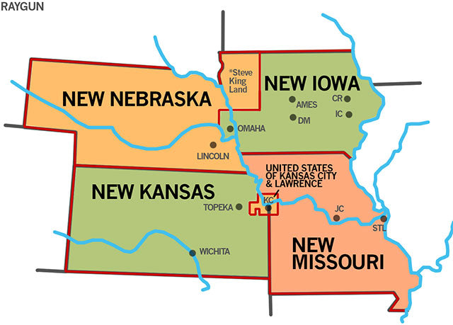 Proposal: A New Iowa, Free From Steve-King-Land  – RAYGUN