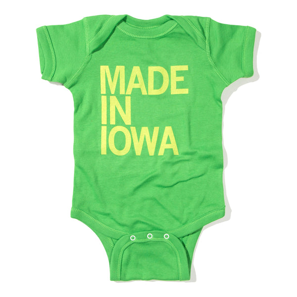 Made In Iowa Onesie