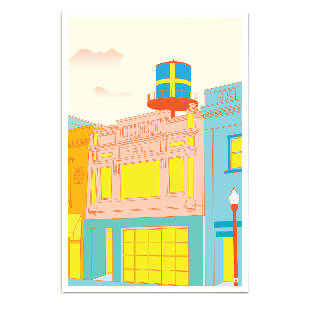 Andersonville Chicago Poster