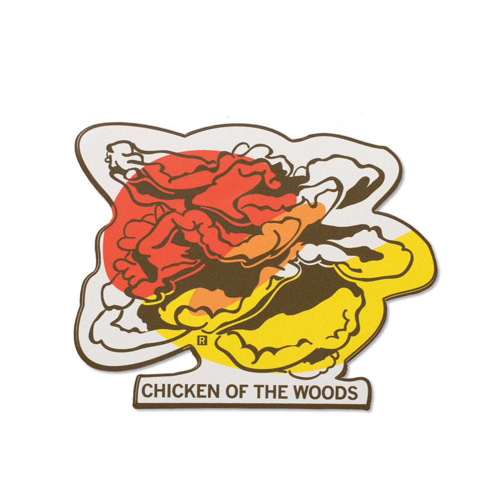 Chicken of the Woods Midwestern Mushrooms Sticker