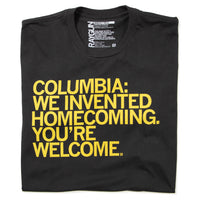 Columbia: We Invented Homecoming (R)